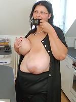 huge boobs in sexy underwaer