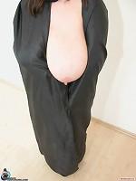 pretty women sucking large boobs