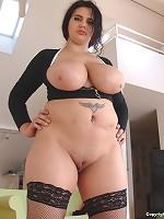 how big are paris hilton's boobs
