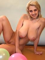 hot boobs in a mirror